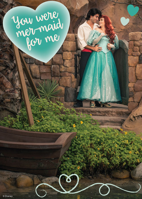 Valentine's Day Card - Ariel and Eric