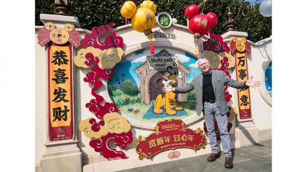 Alan Menken at Shanghai Disney Resort