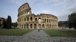 The Colosseum in Rome on Adventures by Disney 2019 Europe Short Escape Vacation Package