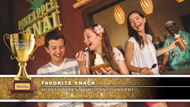 Disney Parks Moms Panel Award for Favorite Snack - Dole Whip