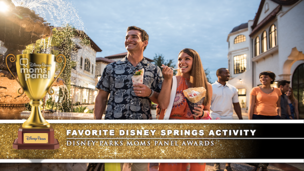 Disney Parks Moms Panel Award for Favorite Disney Springs Activity - Dining
