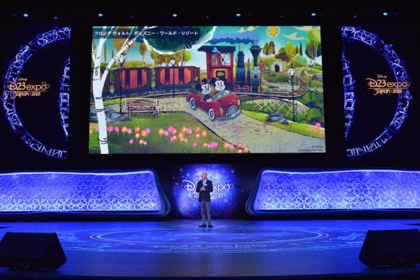 Bob Chapek, Chairman of Walt Disney Parks & Resorts During D23 Expo Japan