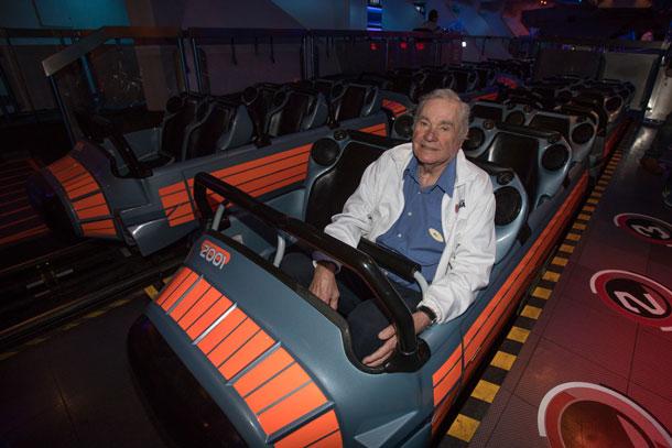 Bill Watkins visits Space Mountain at Disneyland Park