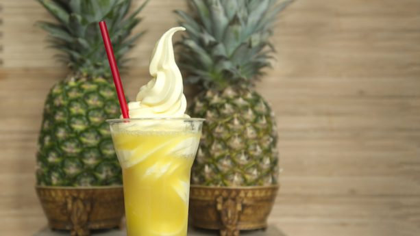 Pineapple Soft Serve from Pineapple Plaza at the Epcot International Flower & Garden Festival