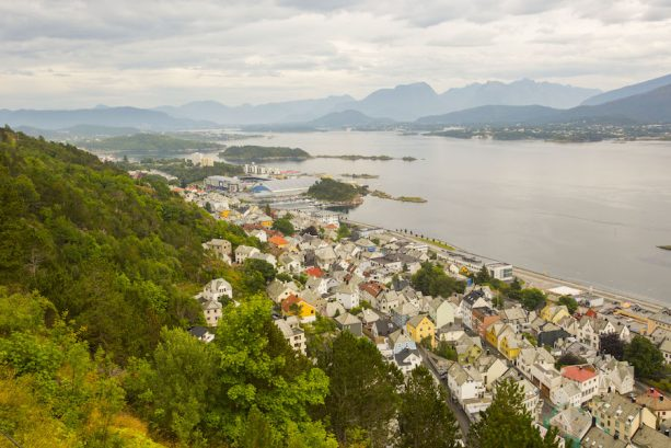 The City of Alesund, Norway