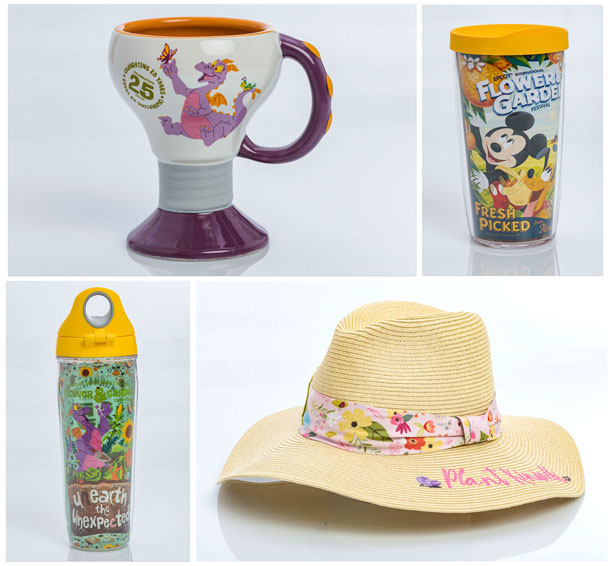 New Merchandise Blooms for 25th Epcot International Flower & Garden Festival - Home Decor