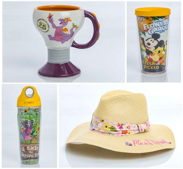 New Merchandise Blooms for 25th Epcot International Flower & Garden Festival - Home Decor