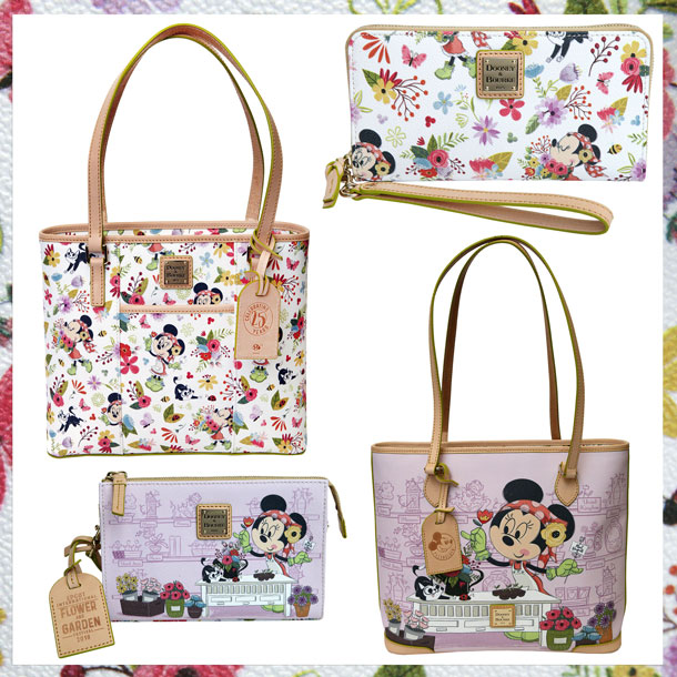 New Merchandise Blooms for 25th Epcot International Flower & Garden Festival - Dooney & Bourke Handbags