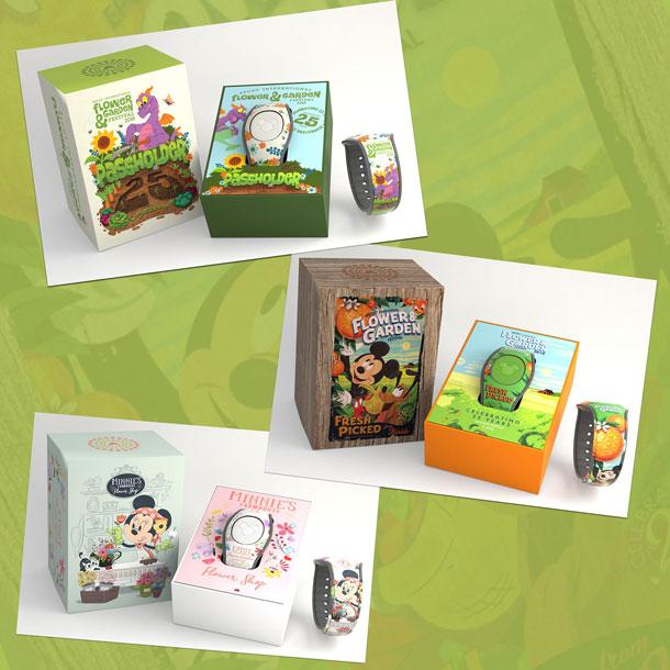 New Merchandise Blooms for 25th Epcot International Flower & Garden Festival - MagicBands