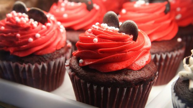 Decadent Chocolate Cupcakes from Disney Springs