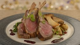 Roasted Lamb Chops at Be Our Guest Restaurant in Magic Kingdom Park