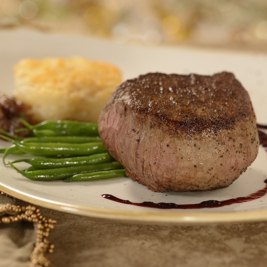 Filet Mignon at Be Our Guest Restaurant in Magic Kingdom Park