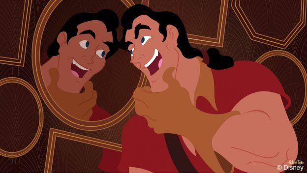 Disney Doodle: Gaston Visits Abracadabar