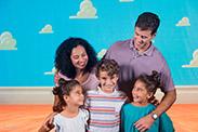 Disney Springs PhotoPass Studio - Toy Story Backdrop