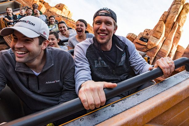 Philadelphia Eagles Star Quarterback Nick Foles Celebrates Super Bowl Title at Walt Disney World Resort