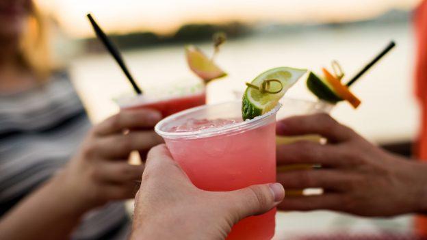 Assorted Margaritas at BoardWalk Joe's Marvelous Margaritas