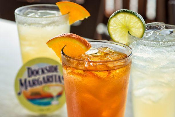 Assorted Margaritas at Dockside Margaritas in Disney Springs
