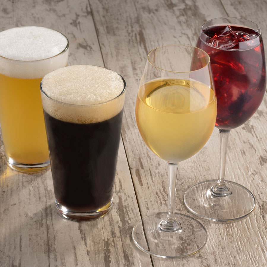 Assorted Beers and Wines at Spyglass Grill at Disney's Caribbean Beach Resort