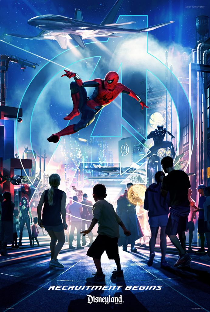 Disney Parks announces Marvel-ous plans for Disneyland