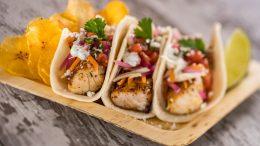 Caribbean Tacos at Spyglass Grill at Disney's Caribbean Beach Resort
