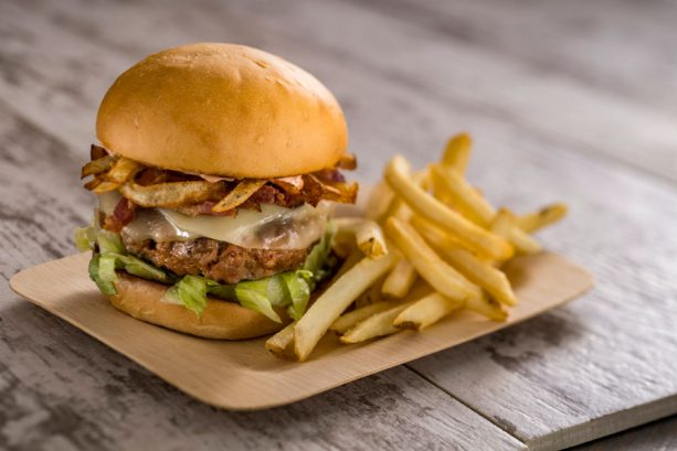 Chorizo Burger at Spyglass Grill at Disney's Caribbean Beach Resort
