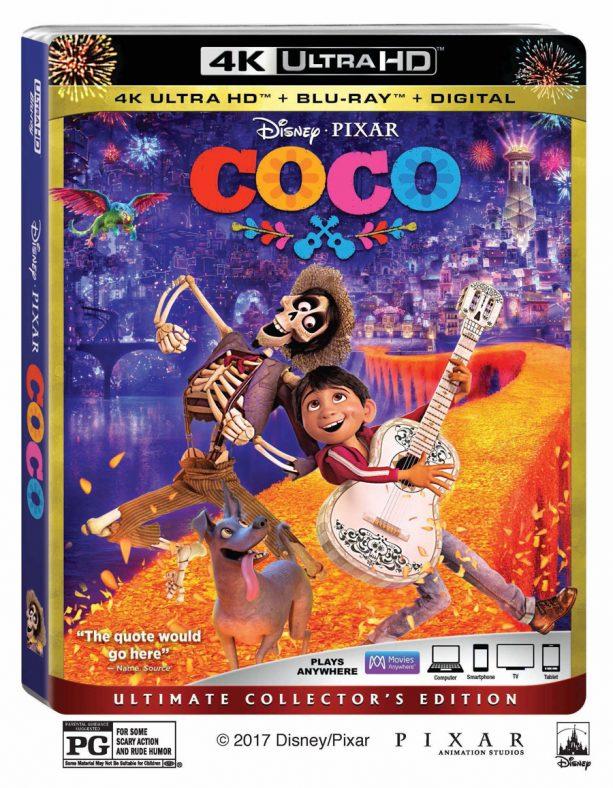 Coco 4K HD Case