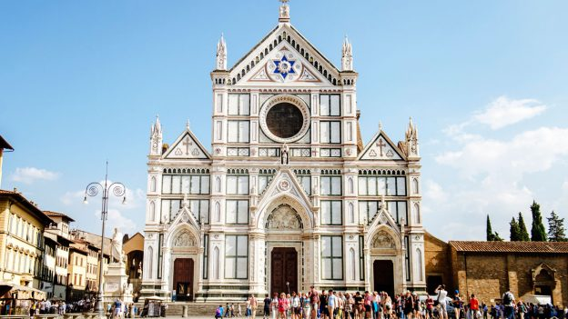 Cruising Europe with Disney Santa Croce, Florence