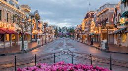 Main Street, U.S.A., at Disneyland Refurbished