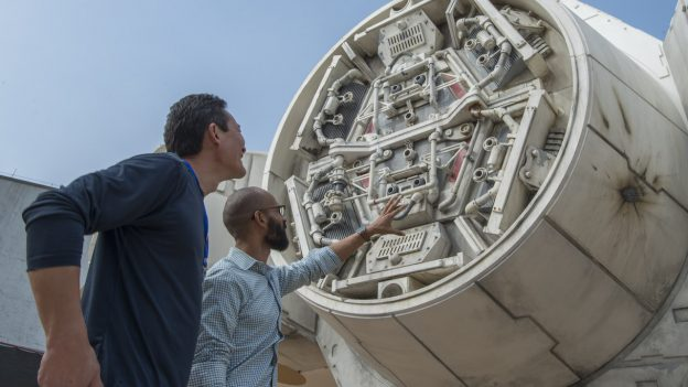 Millenium Falcon Under Development for Star Wars: Galaxy's Edge