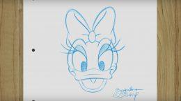 Daisy Duck Sketch