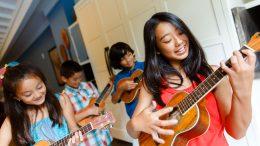 Family Fun Activities at Aulani, a Disney Resort & Spa - Ho'okanipila – Learn the 'Ukulele