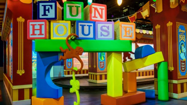 Toy Story Midway Mania Fun House