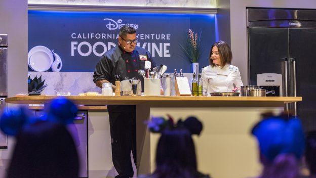 Disney California Adventure Food & Wine Festival Cooking Demo