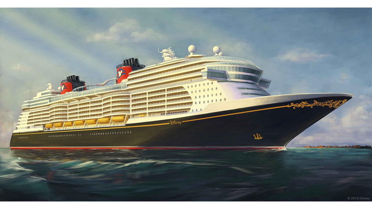 D. C. L. - Disney Cruise Line - cover