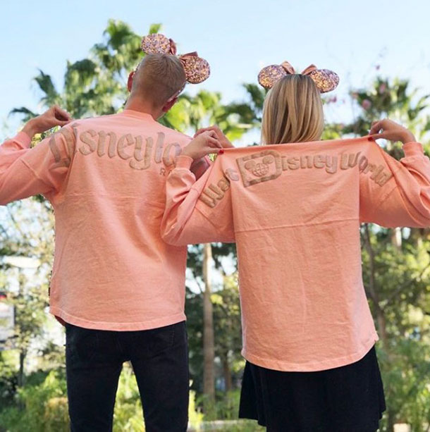 Rose Gold Walt Disney World and Disneyland spirit jerseys