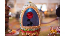 Beauty and the Beast Easter Egg at Disney's Grand Floridian Resort & Spa