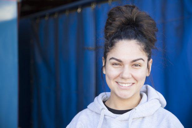 Carly Caipo, parade performer, 5 years at the Disneyland Resort