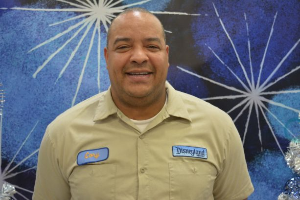 Cory Johnson, resort enhancement, 10 months at the Disneyland Resort