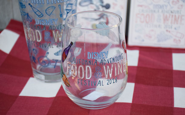 Find New Merchandise at Disney California Adventure Food & Wine Festival