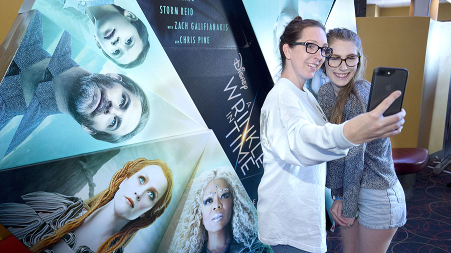 Disney Park Blog readers at 'Wrinkle In Time' Meet-Up