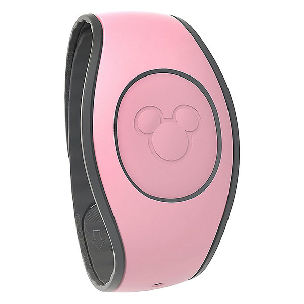 Pink MagicBand close-up