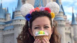 Flower Crown Cupcake at Magic Kingdom Park