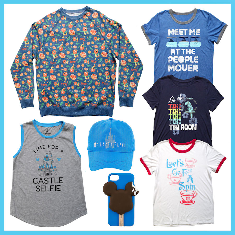Products that will be found at DisneyStyle, Opening at Disney Springs in May 2018