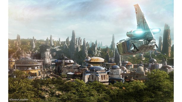 Star Wars experiences at Disneyland park