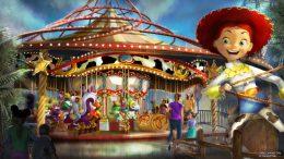 Jessie's Critter Carousel Rendering