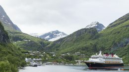Disney Magic Sails to Geiranger, Norway, for the First Time