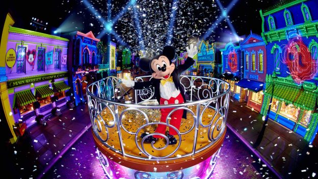 """""""We Love Mickey!"""" Projection Show"""