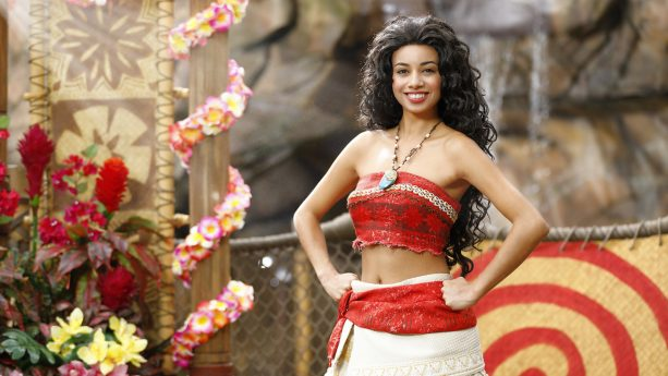 Moana Visiting Hong Kong Disneyland
