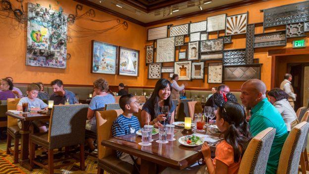 Guests dine at Tiffins at Disney's Animal Kingdom