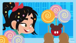 Disney Doodle: Vanellope visits the Main Street Confectionery